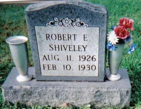 SHIVELEY, ROBERT E. - Scioto County, Ohio   ROBERT E. SHIVELEY - Ohio Gravestone Photos