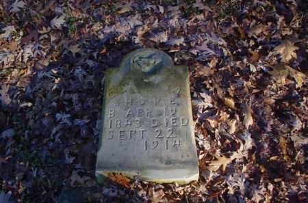 SHOPE, C _ _ _ _ _ A - Scioto County, Ohio   C _ _ _ _ _ A SHOPE - Ohio Gravestone Photos