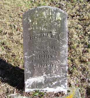 SHOPE, RUHAMA A. - Scioto County, Ohio | RUHAMA A. SHOPE - Ohio Gravestone Photos