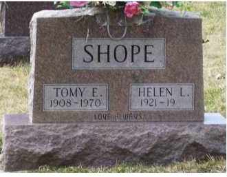 SHOPE, TOMY E. - Scioto County, Ohio | TOMY E. SHOPE - Ohio Gravestone Photos