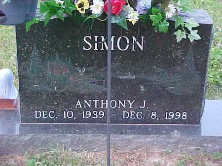 SIMON, ANTHONY J. - Scioto County, Ohio | ANTHONY J. SIMON - Ohio Gravestone Photos