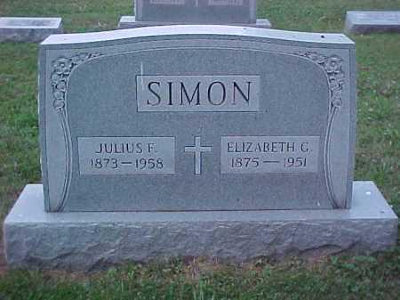 SIMON, JULIUS F. - Scioto County, Ohio | JULIUS F. SIMON - Ohio Gravestone Photos
