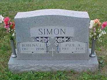SIMON, ROBENA L. - Scioto County, Ohio | ROBENA L. SIMON - Ohio Gravestone Photos
