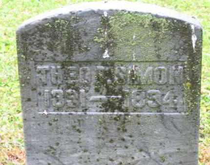 SIMON, THEO. T. - Scioto County, Ohio | THEO. T. SIMON - Ohio Gravestone Photos