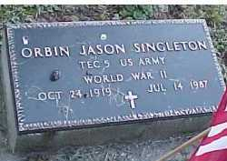 SINGLETON, ORBIN JASON - Scioto County, Ohio | ORBIN JASON SINGLETON - Ohio Gravestone Photos
