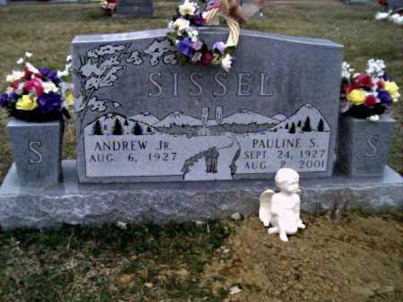 SISSEL, ANDREW JR. - Scioto County, Ohio | ANDREW JR. SISSEL - Ohio Gravestone Photos