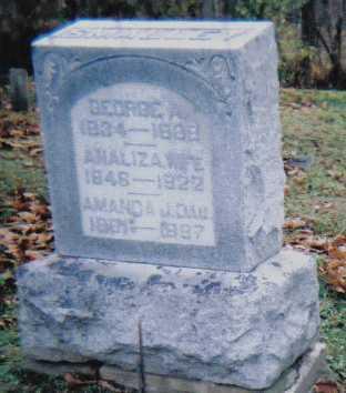 SMALLEY, AMANDA J. - Scioto County, Ohio | AMANDA J. SMALLEY - Ohio Gravestone Photos
