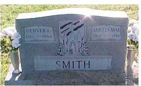 SMITH, DENVER L. - Scioto County, Ohio | DENVER L. SMITH - Ohio Gravestone Photos