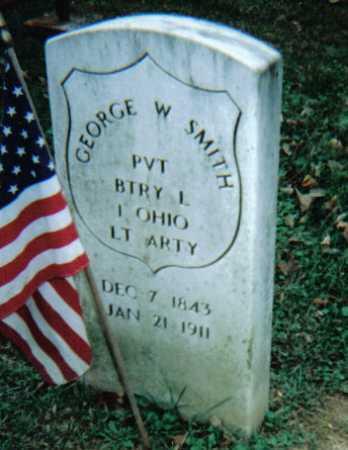 SMITH, GEORGE W. - Scioto County, Ohio   GEORGE W. SMITH - Ohio Gravestone Photos