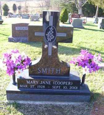 SMITH, MARY JANE - Scioto County, Ohio | MARY JANE SMITH - Ohio Gravestone Photos