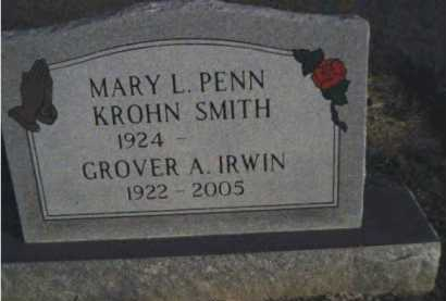 IRWIN, GROVER A. - Scioto County, Ohio | GROVER A. IRWIN - Ohio Gravestone Photos