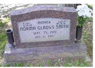 SMITH, NORMA GLADYS - Scioto County, Ohio | NORMA GLADYS SMITH - Ohio Gravestone Photos