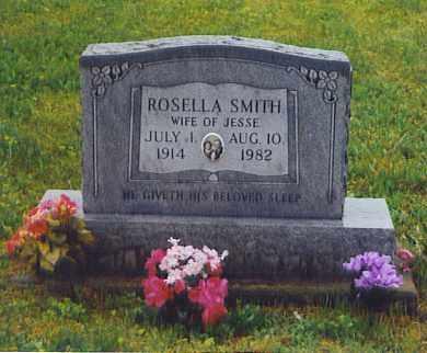 JENKINS SMITH, ROSELLA - Scioto County, Ohio   ROSELLA JENKINS SMITH - Ohio Gravestone Photos