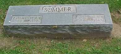 SOMMER, ADELAIDE - Scioto County, Ohio | ADELAIDE SOMMER - Ohio Gravestone Photos