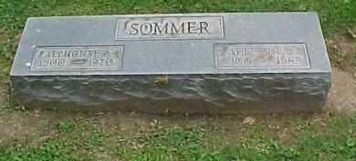 SOMMER, ALPHONSE A. - Scioto County, Ohio | ALPHONSE A. SOMMER - Ohio Gravestone Photos