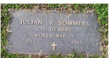 SOMMERS, JULIAN R. - Scioto County, Ohio | JULIAN R. SOMMERS - Ohio Gravestone Photos