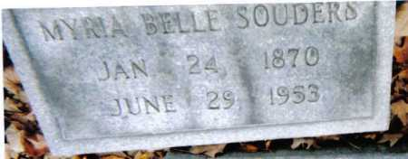 SOUDERS, MYRIA BELLE - Scioto County, Ohio   MYRIA BELLE SOUDERS - Ohio Gravestone Photos