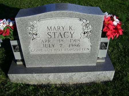 STACY, MARY K. - Scioto County, Ohio   MARY K. STACY - Ohio Gravestone Photos