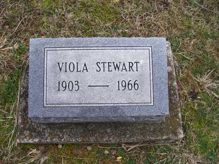 STEWART, VIOLA - Scioto County, Ohio   VIOLA STEWART - Ohio Gravestone Photos