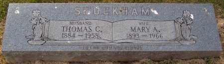 STOCKHAM, THOMAS - Scioto County, Ohio | THOMAS STOCKHAM - Ohio Gravestone Photos