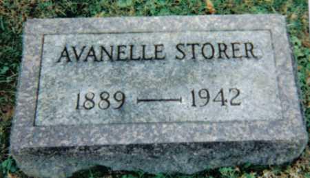 STORER, AVANELLE - Scioto County, Ohio | AVANELLE STORER - Ohio Gravestone Photos