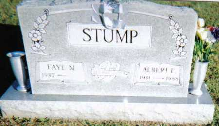 STUMP, ALBERT L. - Scioto County, Ohio | ALBERT L. STUMP - Ohio Gravestone Photos