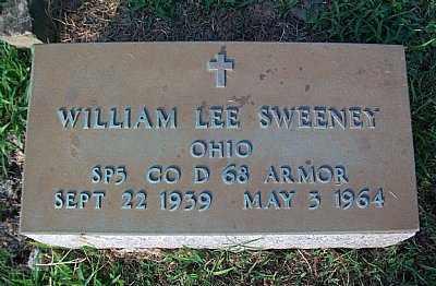 SWEENEY, WILLIAM LEE - Scioto County, Ohio | WILLIAM LEE SWEENEY - Ohio Gravestone Photos