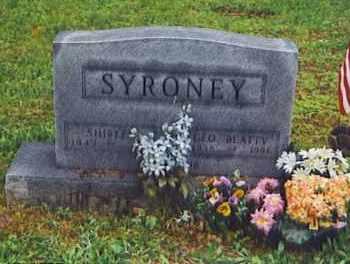 SYRONEY, GEORGE - Scioto County, Ohio | GEORGE SYRONEY - Ohio Gravestone Photos
