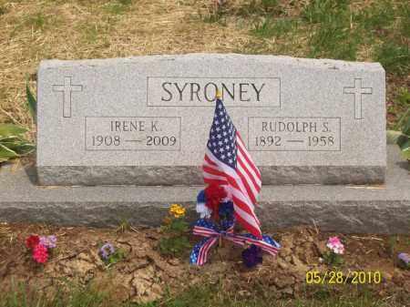 KOCH SYRONEY, IRENE - Scioto County, Ohio | IRENE KOCH SYRONEY - Ohio Gravestone Photos