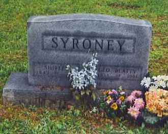 SMITH SYRONEY, SHIRLEY - Scioto County, Ohio | SHIRLEY SMITH SYRONEY - Ohio Gravestone Photos