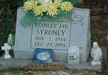 SYRONEY, STANLEY JAY - Scioto County, Ohio | STANLEY JAY SYRONEY - Ohio Gravestone Photos