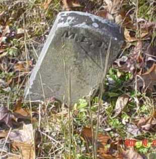 T., M. E. - Scioto County, Ohio | M. E. T. - Ohio Gravestone Photos
