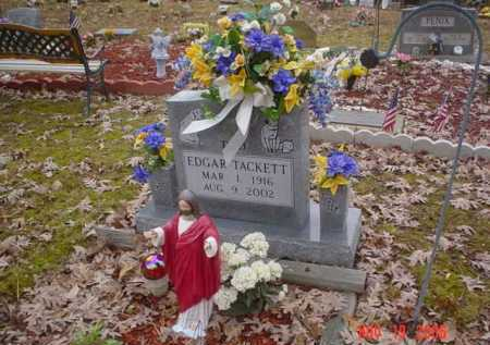 TACKETT, EDGAR - Scioto County, Ohio | EDGAR TACKETT - Ohio Gravestone Photos