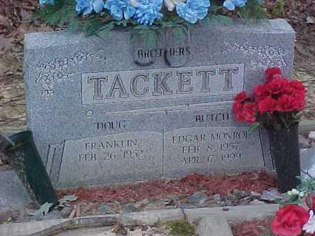 TACKETT, FRANKLIN - Scioto County, Ohio | FRANKLIN TACKETT - Ohio Gravestone Photos