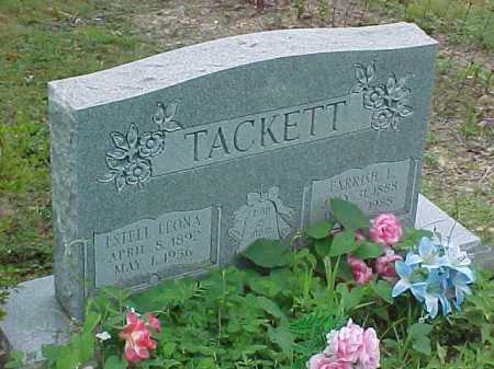 TACKETT, ESTELL LEONA - Scioto County, Ohio   ESTELL LEONA TACKETT - Ohio Gravestone Photos