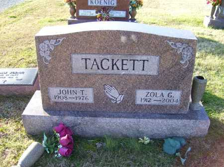 TACKETT, JOHN T. - Scioto County, Ohio | JOHN T. TACKETT - Ohio Gravestone Photos