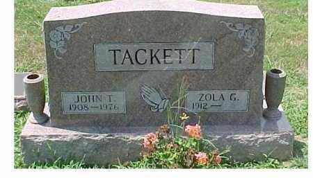 TACKETT, ZOLA G. - Scioto County, Ohio | ZOLA G. TACKETT - Ohio Gravestone Photos