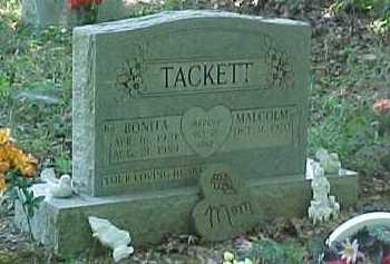 TACKETT, MALCOM - Scioto County, Ohio | MALCOM TACKETT - Ohio Gravestone Photos