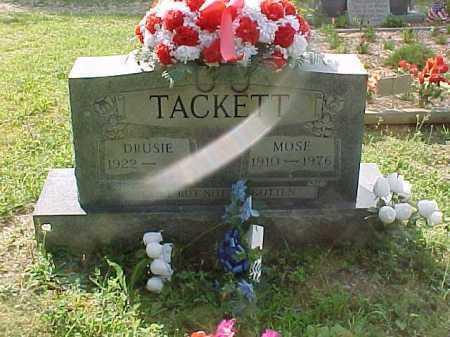 TACKETT, MOSE - Scioto County, Ohio | MOSE TACKETT - Ohio Gravestone Photos
