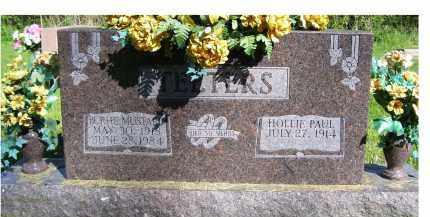 TEETERS, BURHL - Scioto County, Ohio | BURHL TEETERS - Ohio Gravestone Photos