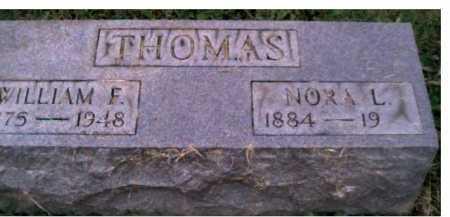 THOMAS, NORA L. - Scioto County, Ohio | NORA L. THOMAS - Ohio Gravestone Photos