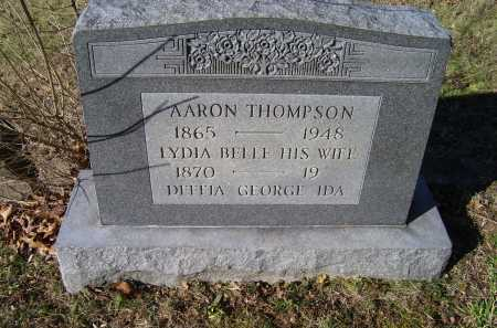 THOMPSON, AARON - Scioto County, Ohio | AARON THOMPSON - Ohio Gravestone Photos