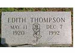 THOMPSON, EDITH - Scioto County, Ohio   EDITH THOMPSON - Ohio Gravestone Photos