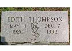 THOMPSON, EDITH - Scioto County, Ohio | EDITH THOMPSON - Ohio Gravestone Photos