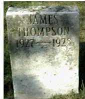 THOMPSON, JAMES - Scioto County, Ohio | JAMES THOMPSON - Ohio Gravestone Photos