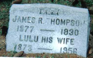 THOMPSON, LULU - Scioto County, Ohio | LULU THOMPSON - Ohio Gravestone Photos
