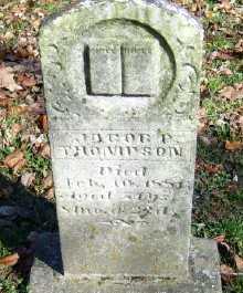 THOMPSON, JACOB - Scioto County, Ohio   JACOB THOMPSON - Ohio Gravestone Photos