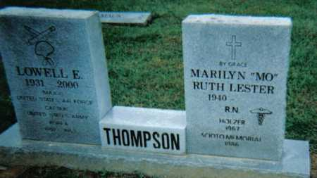THOMPSON, MARILYN RUTH - Scioto County, Ohio | MARILYN RUTH THOMPSON - Ohio Gravestone Photos