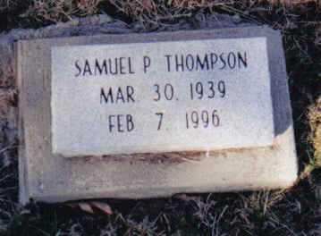 THOMPSON, SAMUEL P. - Scioto County, Ohio | SAMUEL P. THOMPSON - Ohio Gravestone Photos