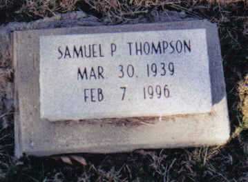 THOMPSON, SAMUEL P. - Scioto County, Ohio | SAMUEL P. THOMPSON - Ohio Gravestone Photos